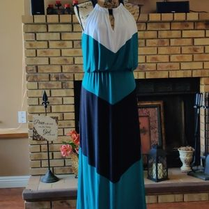 NWT London Style Collection Maxi Dress